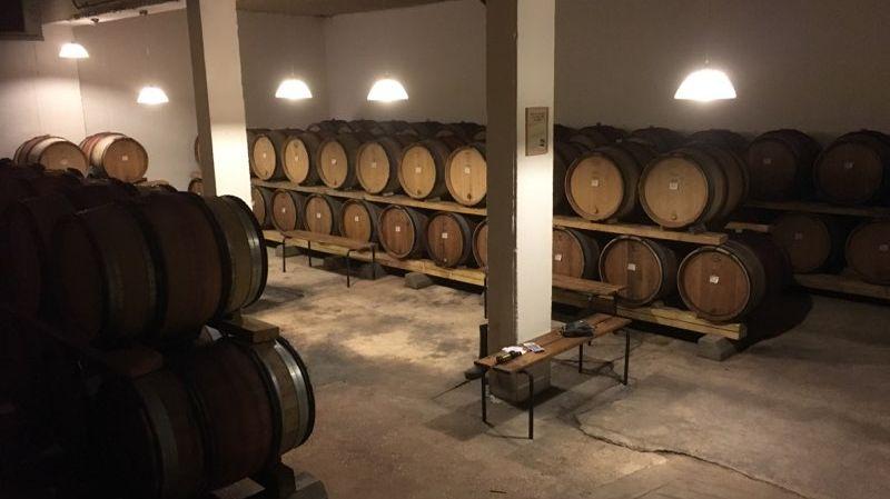 Un escape éphémère s'est installé dans le domaine viticole de Bruno Verret à Saint-Bris-le-Vineux, tout ce weekend.