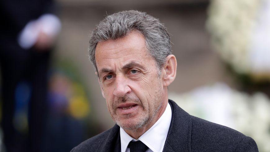 Nicolas Sarkozy le 3 mai 2019 à Paris