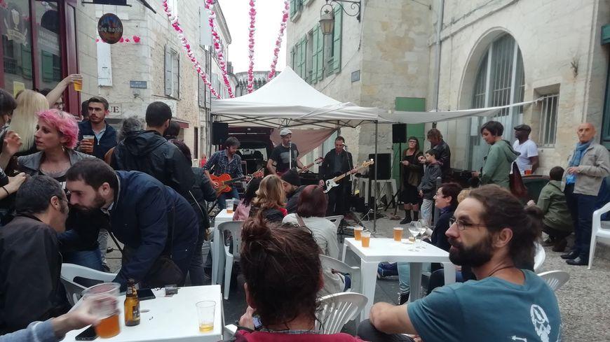 Les commerçants de la ville ont accueilli groupes et DJ à l'occasion de la 38e fête de la musique