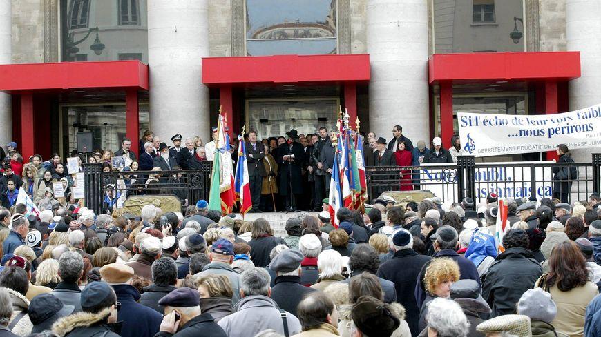 Cérémonie pour le 62ème anniversaire de la rafle du Vieux-Port à Marseille (photo d'illustration)