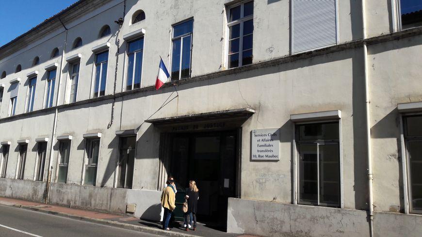 Le palais de justice de Mont-de-Marsan
