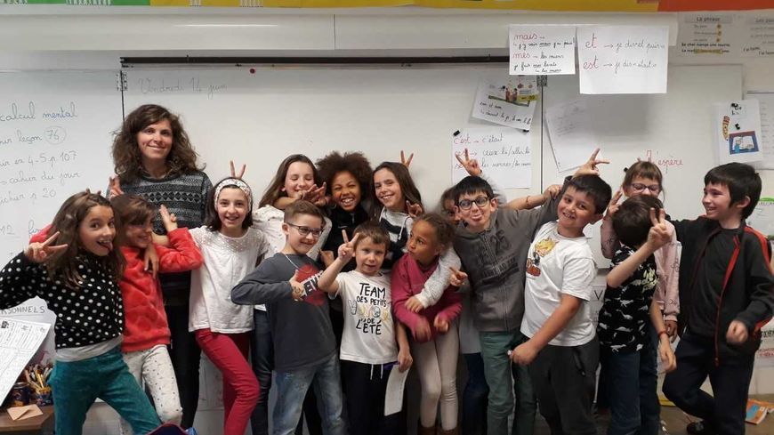 La classe de Mathilde