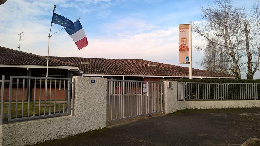 Photo d'illustration. Le collège Georges Brassens de Montastruc-la-Conseillère