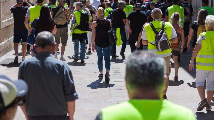 Ils étaient entre 200 et 300 à défiler dans les rues de Dijon ce samedi après-midi.