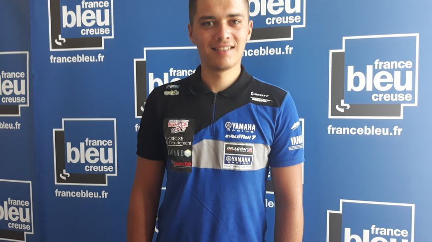 Le pilote moto creusois Anthony Boursaud, 23 ans.