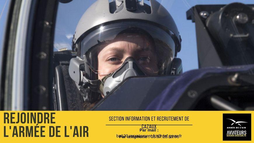 L'armée de l'air recrute pour la BA120 de Cazaux