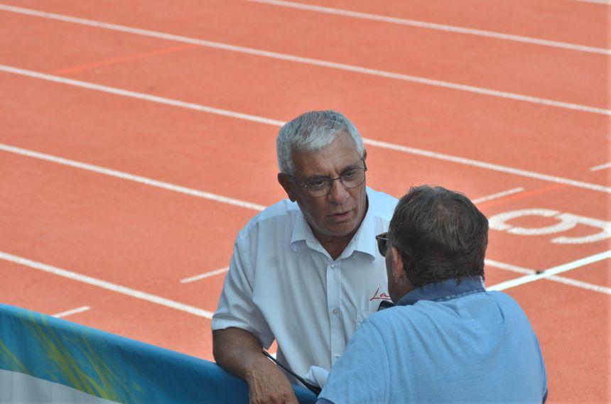Marcel Ferrari le président de la ligue régionale d'athlétisme