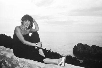 Marlène Jobert à Capri en 1982