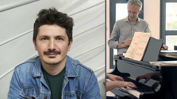 """"""" Electronic Introspections 1 """" pour piano et dispositif électronique de Daniel Cabanzo (4/5)"""