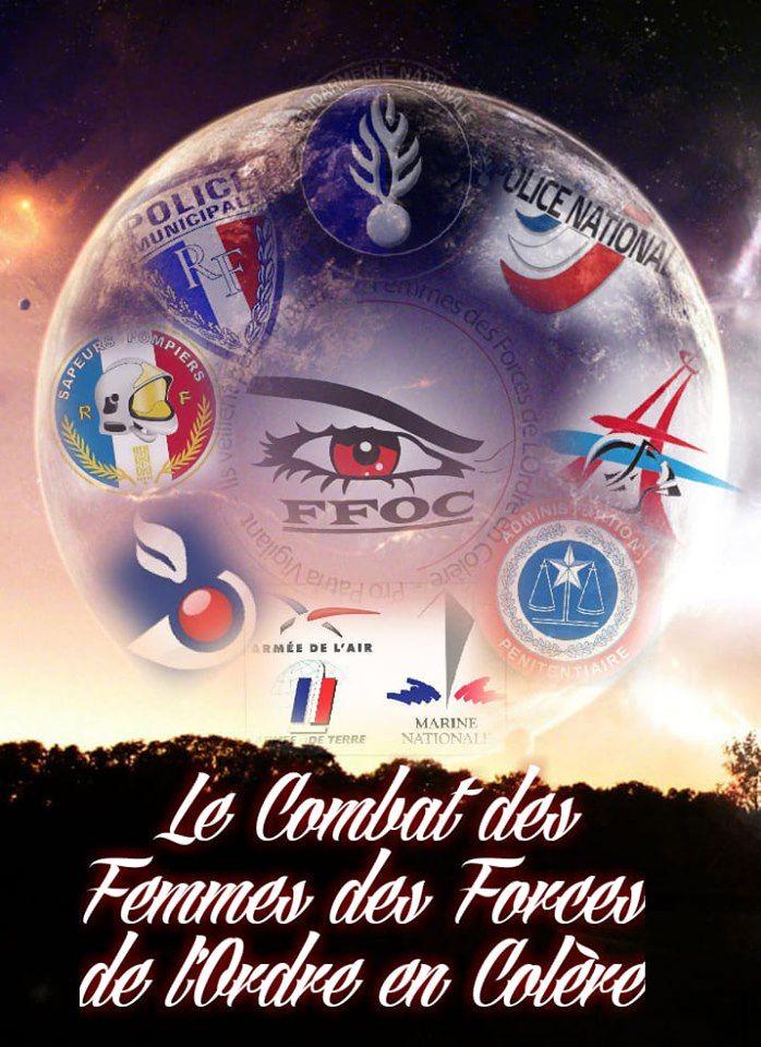 Association Femmes Des Forces De L'Ordre En Colère - FFOC - Radio France