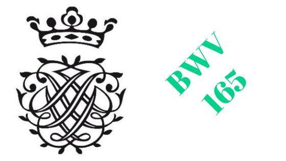 Cantate BWV 165 « O heiliges Geist- und Wasserband »