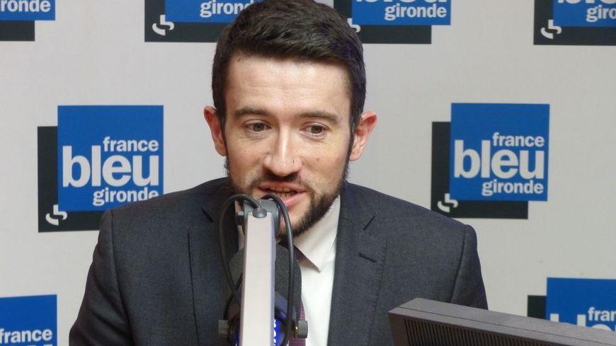 Fabien Robert invité de France Bleu Gironde.