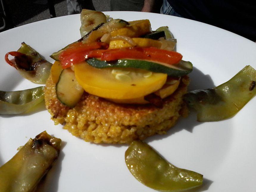 Croquette de quinoa