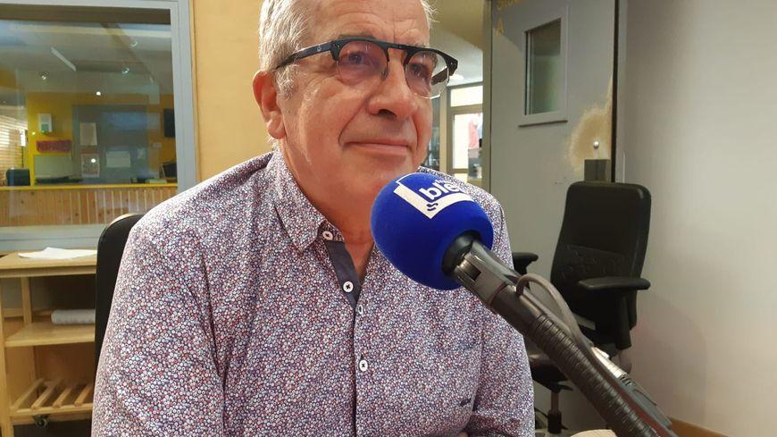 Alain Liger, vice-président des Vitrines d'Orléans
