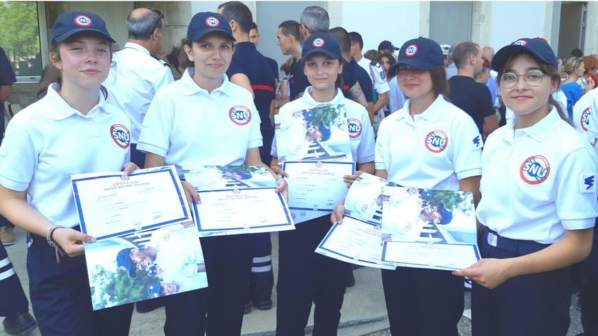 Cérémonie de remise des diplômes aux volontaires du SNU