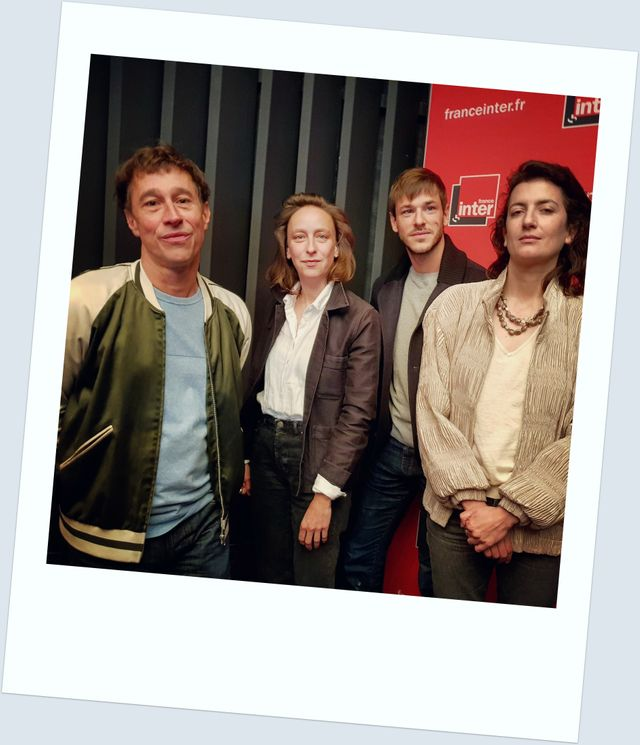 Bertrand Bonello, Céline Sciamma, Gaspard Ulliel et Judith Lou Lévy