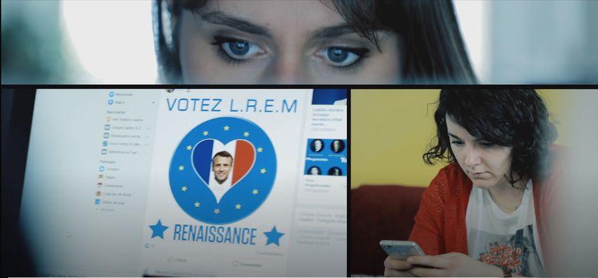 """Extrait en image du documentaire """"La nouvelle fabrique de l'opinion"""", de Thomas Huchon"""