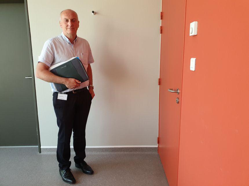 Pierre thépot Directeur du groupe hospitalier La Rochelle-Ré-Aunis-Rochefort-Marennes