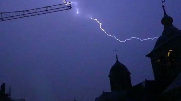Orage sur Chambéry