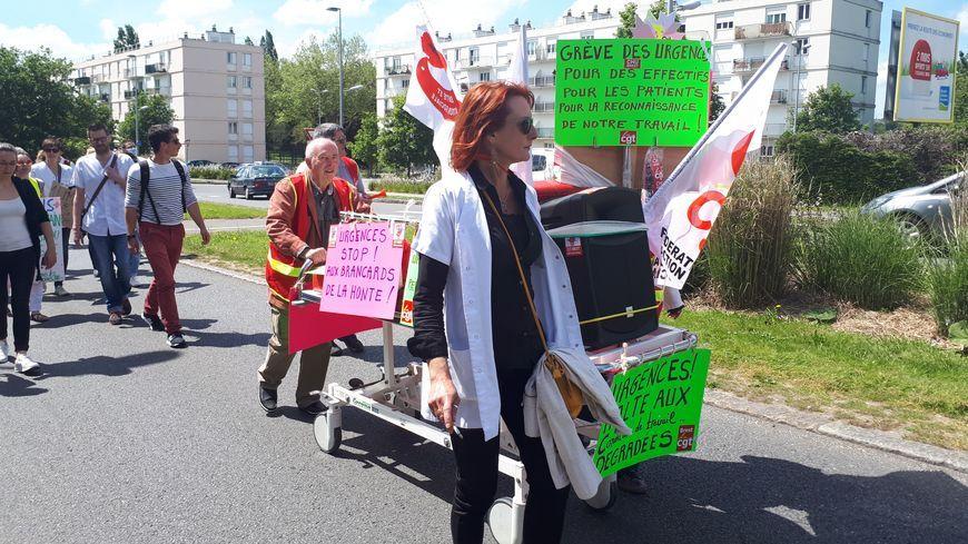 grève aux urgences (Illustration)