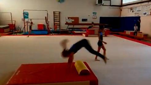 Entrainement de gymnastique à Soustons