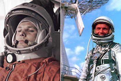 Youri Gagarine puis John Glenn ont été les premiers représentants de leurs nations à se rendre dans l'espace.