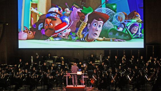 Pixar in Concert : David Newman dirige le NY Philharmonic
