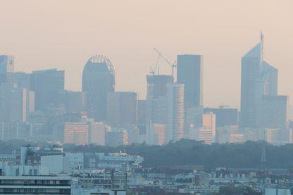 Nuage de pollution sur la capitale française
