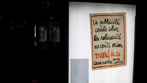 Les quatre militants montpelliérains avaient remplacé des publicités par des affiche en faveur de l'accueil des migrants