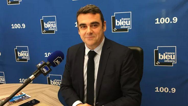 Olivier Geffroy, président de LR dans le Loiret (en novembre 2018)