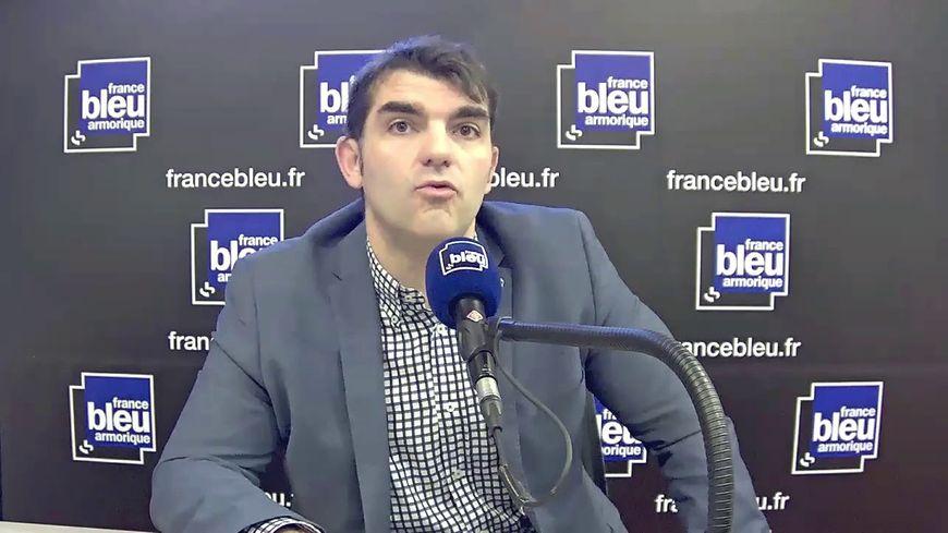 """Charles Compagnon, président de l'association """"Le Carré Rennais"""" (Archives)"""