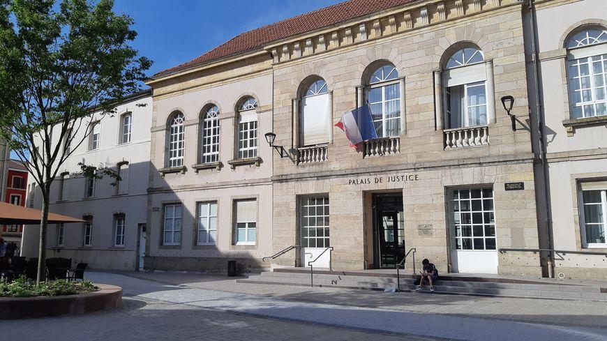 Le palais de justice d'Épinal (illustration)