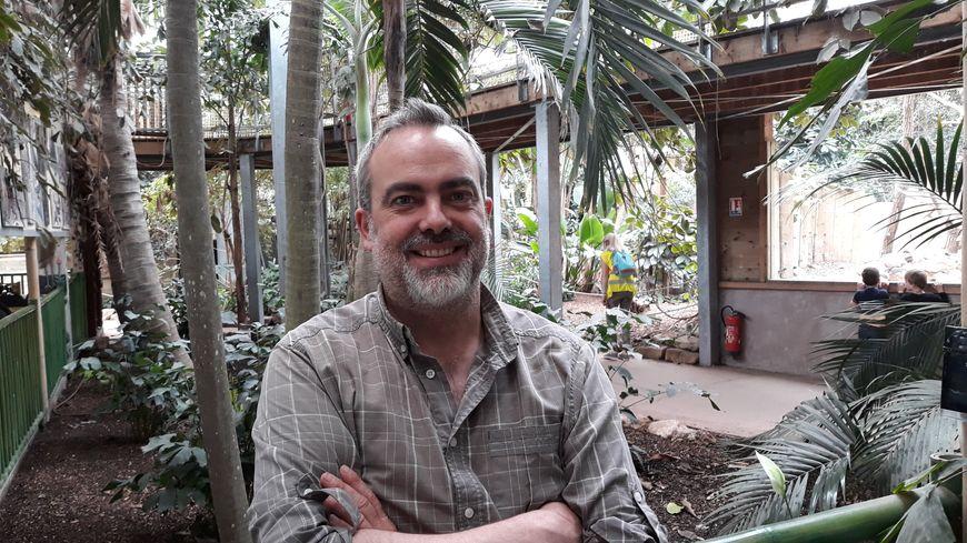 François Huyghe directeur de Biotropica à Val-de-Reuil