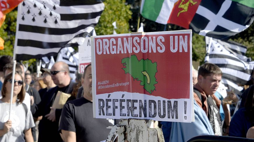 Régulièrement, des militants demandent un référendum sur le rattachement de la Loire-Atlantique à la Bretagne (photo d'illustration)
