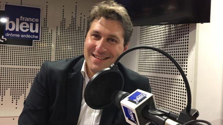 Mathieu Darnaud, sénateur et secrétaire des Républicains en Ardèche
