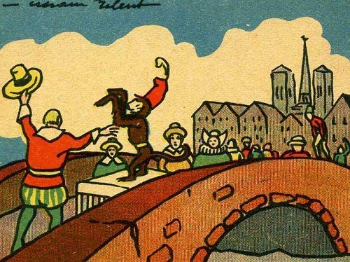 Le petit-pont et son péage