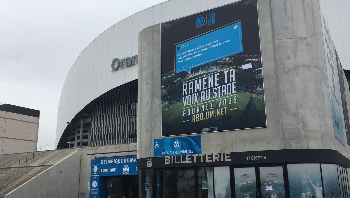 OM - La billetterie du stade à son tour ouverte pour les réabonnements