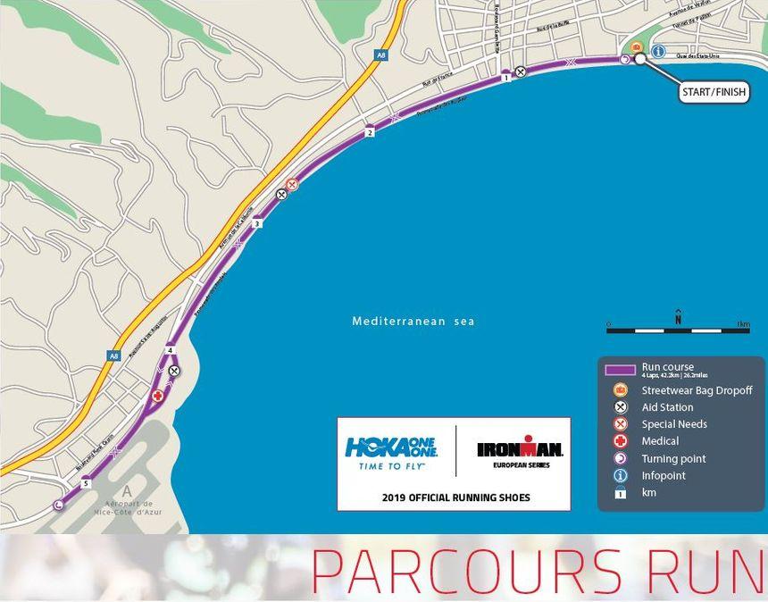Le marathon de l'Ironman de Nice sera amputé d'une boucle sur la promenade des Anglais