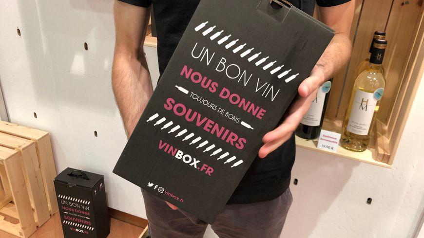 """La boîte à vin """"vinbox"""" créé à Caen"""