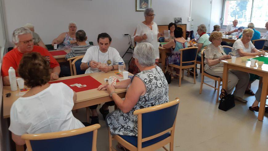 Salle d'activité climatisée au foyer Domont à Montbéliard