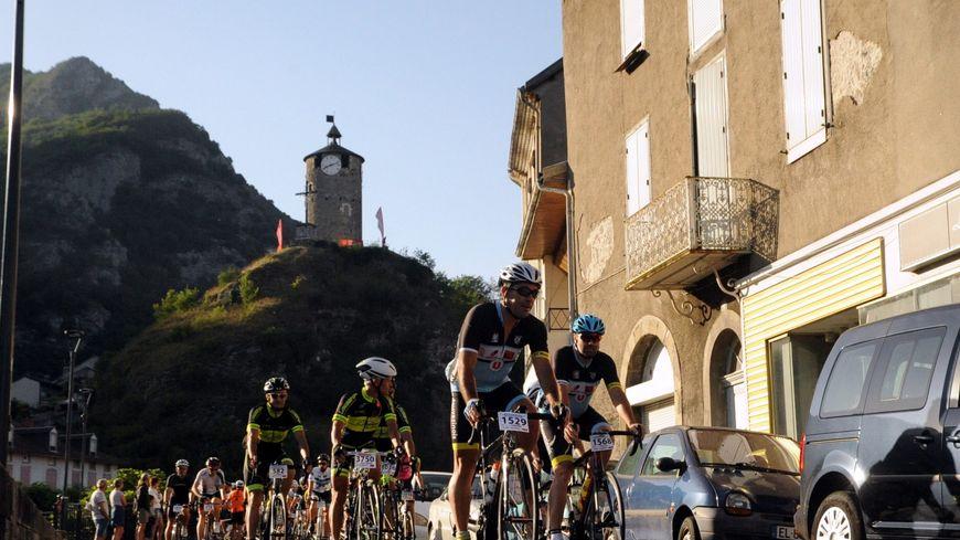 De nombreux cyclistes ont été victimes de malaise pendant la course