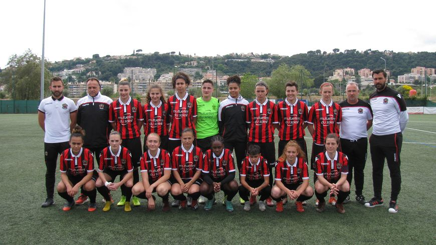 L'équipe féminine de l'OGC Nice évoluera en 2e division la saison prochaine