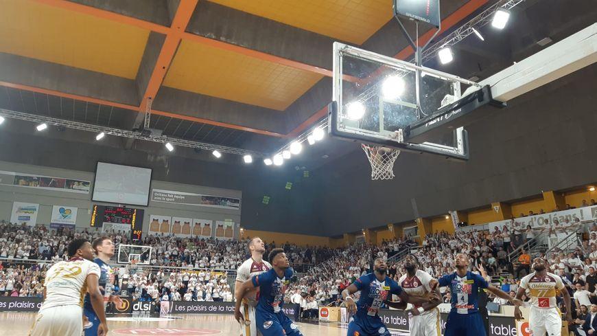 Match Orléans / Rouen (finale aller des playoff de Pro B), le 16 juin 2019 au palais des sports d'Orléans