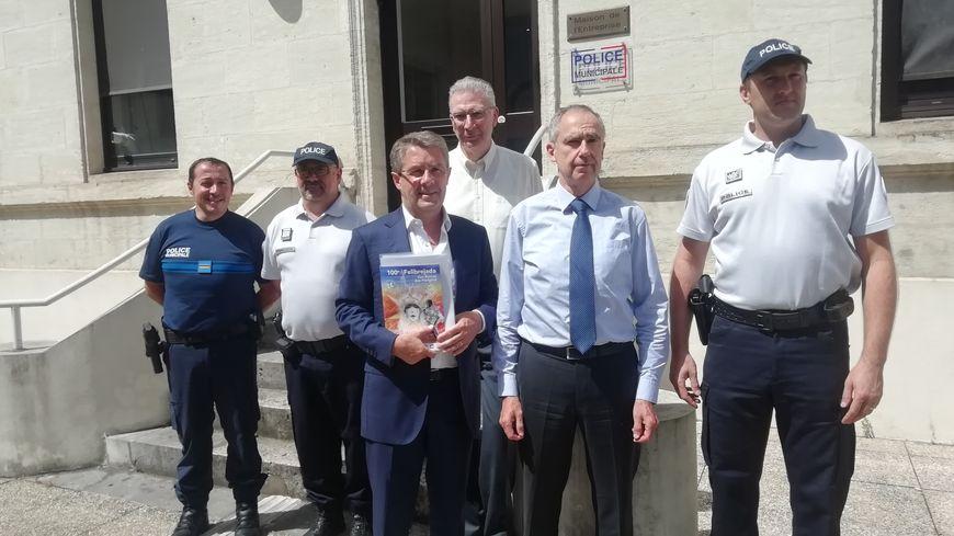 Les agents de sécurité seront rassemblés sur le même poste de commandement à la police municipale de Périgueux