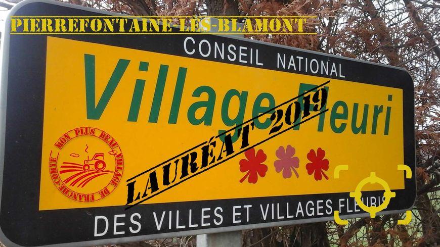 Pierrefontaine-lès-Blamont, élu Plus Beau Village de Franche-Comté 2018
