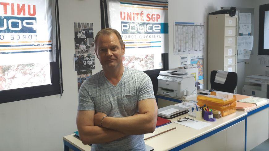 Trois jours après l'intervention des forces de police sur le quai Wilson, à Nantes, le syndicat Unité SGP-FO réagit par l'intermédiaire de son secrétaire départemental, Stéphane Léonard.