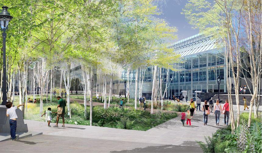 La future forêt urbaine de la gare de Lyon