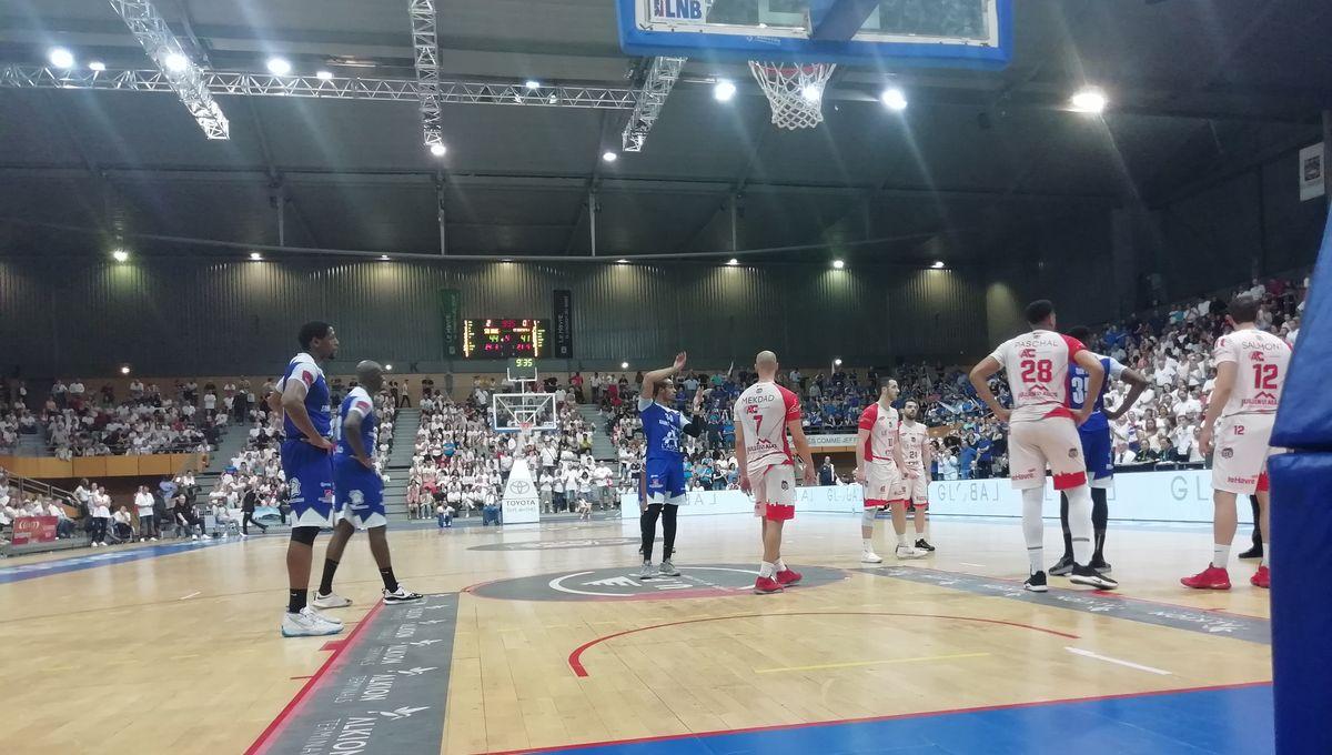 Basket - Finale N1 : le STB Le Havre n'ira pas en Pro B, battu en finale par Saint-Quentin
