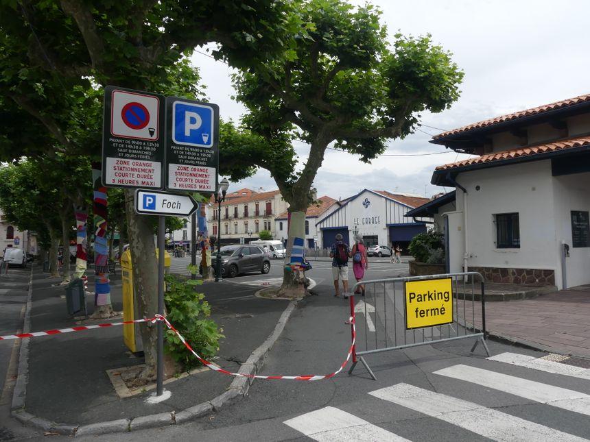A Saint Jean de Luz, la place Foch interdite aux voitures