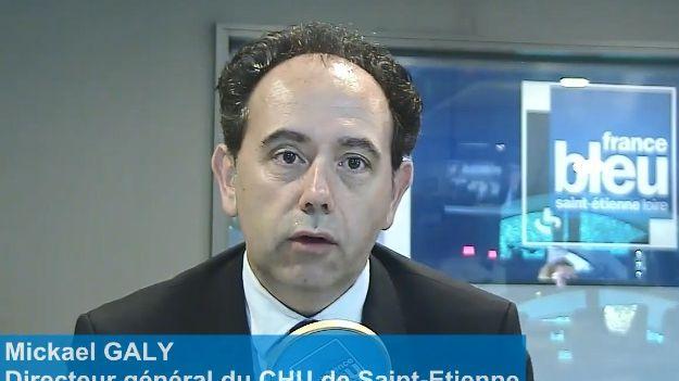 Mickaël Galy le directeur du CHU  de Saint-Étienne